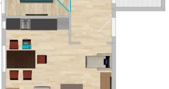 Vila Suri - plan apartmana